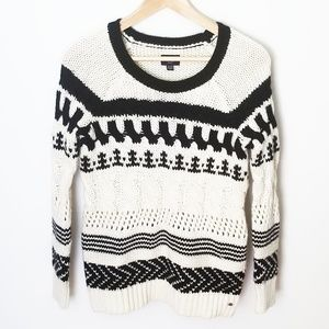 American Eagle cableknit sweater